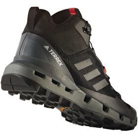 adidas TERREX Fast Mid GTX Shoes Herren core black/core black/vista grey